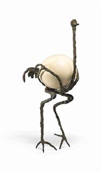 l'autruche by diego giacometti
