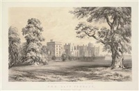 picturesque views of windsor castle and the surrounding scenery (+ 6 others; 7 works) by paul gauci