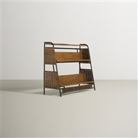 bookshelf by jacques adnet