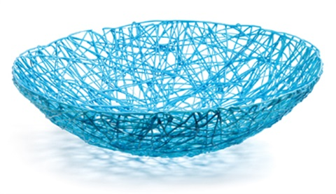 fresh fat blue medium bowl by tom dixon