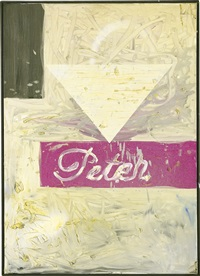 untitled (peter) by martin kippenberger