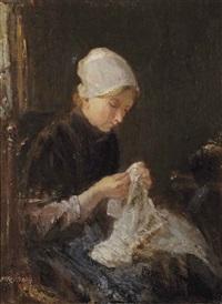 the seamstress by jozef israëls