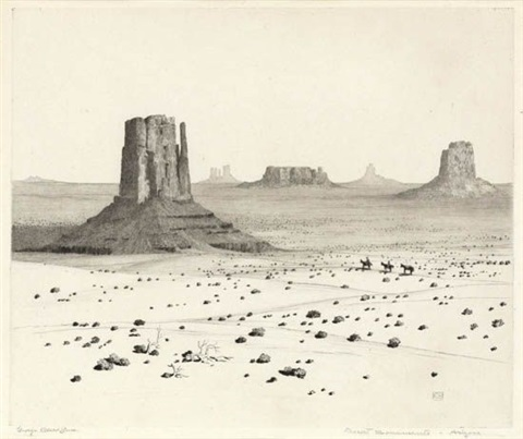 desert monuments arizona by george elbert burr