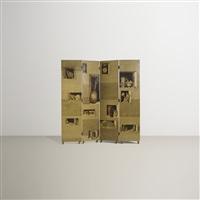nicchie folding screen by piero fornasetti