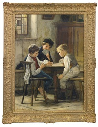 a game of cards by gustav igler