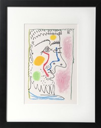 untitled (profile vii) by pablo picasso