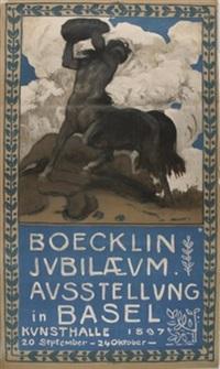boecklin jubilaeum by hans sandreuter