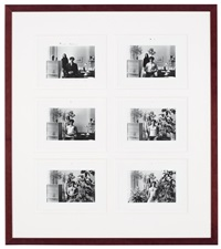 paradise regained (6 works in 1 frame) by duane michals
