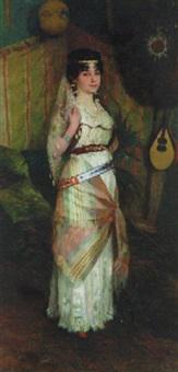 an odalisque by georg tyrahn