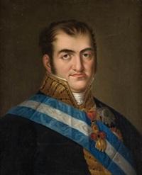 retrato de fernando vii by josé (inglada) aparicio