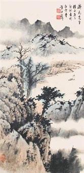 烟岚帆影 by huang junbi