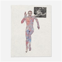 untitled (running woman) by nancy spero