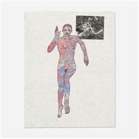 untitled (running woman) by nancy spero