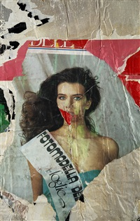 fotomodella by mimmo rotella