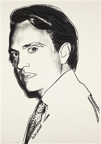 carter burden by andy warhol