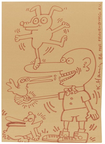 untitled for frauenburg ev by keith haring