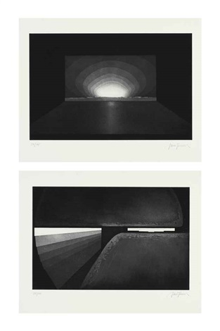 deep sky set of 7 by james turrell