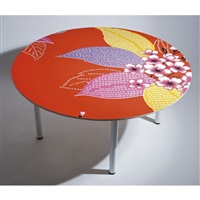 garden passage table #1 by michael lin