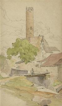 italienische szenen (sketchbook) by august wilhelm julius ahlborn