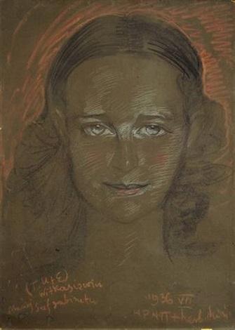 portrait jadwiga sobolewska von den blazejewicz by stanislaw ignacy witkiewicz