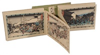 the complete chushingura series- the storehouse of loyalty (16 works) by ando hiroshige