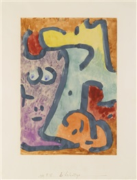 die schattige (the shadowy one) by paul klee