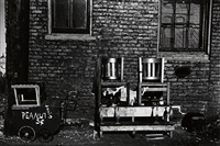 sunday in an alley (chicago) by walker evans