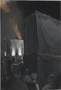 new god's funeral by adrian ghenie