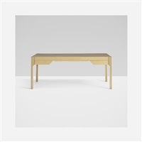 rare desk from the paulin collection by pierre paulin