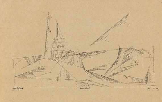 nermsdorf by lyonel feininger