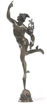mercury (after giambologna) by benedetto boschetti