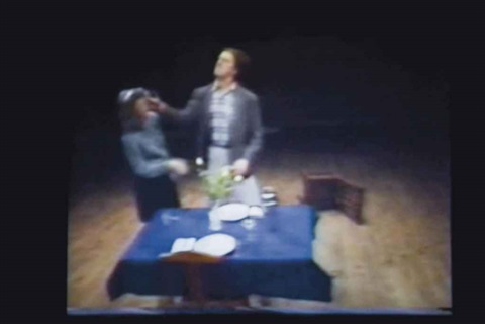 violent incident manwoman segment 30 min by bruce nauman
