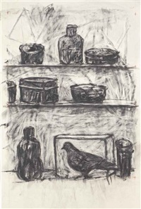 drawing from medicine chest by william kentridge