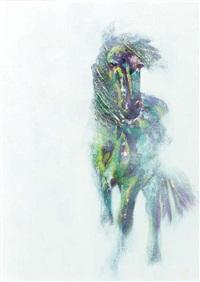 """""""el caballo frison"""" by linda cookson"""