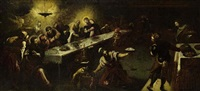 the last supper by jacopo robusti tintoretto