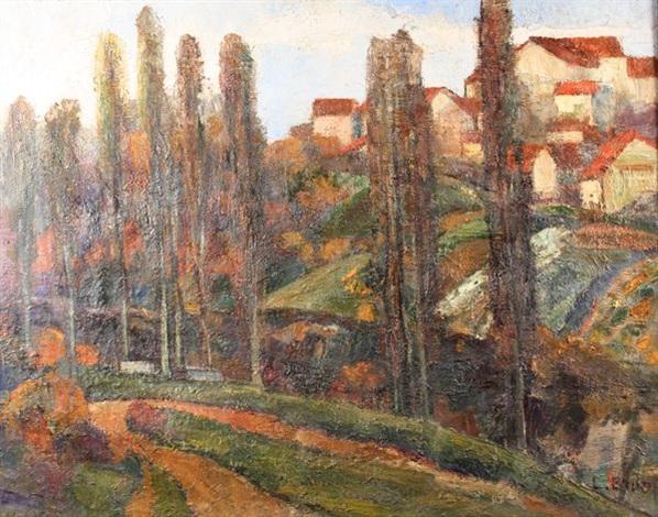 paysage du midi by lev bruni