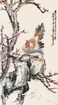 翎毛花卉 by ma yiqun