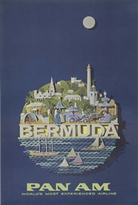 pan am - bermuda by raymond ameijide