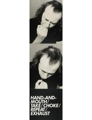 hand mouth 2 works from 3 adaptation studies by vito acconci