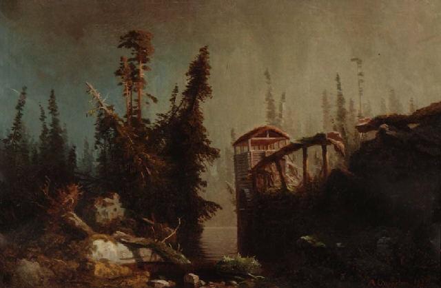 kvernhus by herman august cappelen