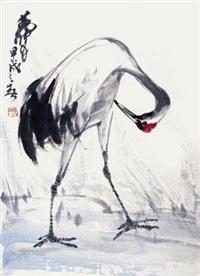 鹤 by huang zhou