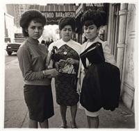 three puertorican ladies, new york by diane arbus