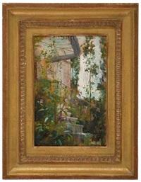 entrée de la maison de sannois by julie delance-feurgard