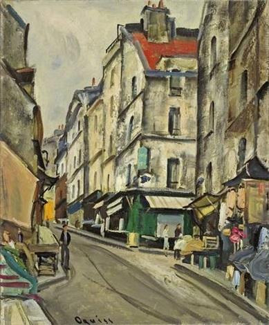rue mouffetard paris by takanori oguiss