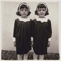 identical twins, roselle, nj by diane arbus