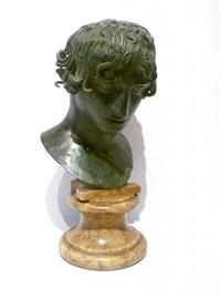 tête d'éphèbe à l'antique by g(iovanni) varlese