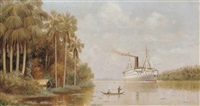 the steamship hildebrand on the thousand-mile passage up the amazon to manaus by d.w.e. gutman