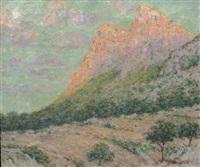 paysage de montagne by pere isern alié