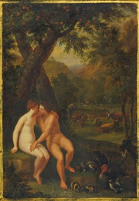 the garden of eden by jan brueghel the elder and hendrick de clerck