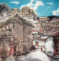 寺 by li xiaoke